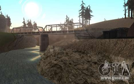 RoSA Project v1.4 Countryside SF pour GTA San Andreas neuvième écran