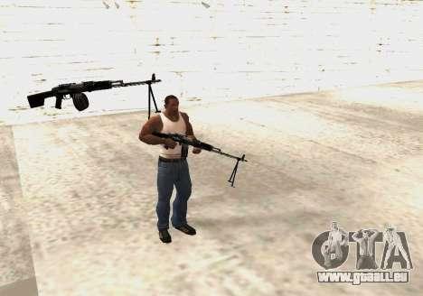 RPK-203 für GTA San Andreas sechsten Screenshot