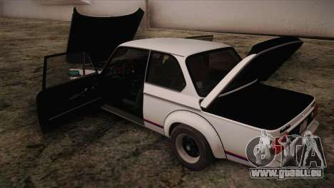 BMW 2002 1973 pour GTA San Andreas vue de côté