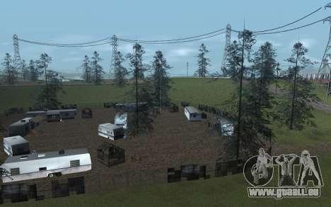 RoSA Project v1.4 Countryside SF pour GTA San Andreas deuxième écran