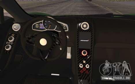 McLaren 650S Spyder 2014 pour GTA San Andreas vue de droite