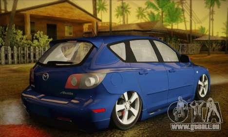 Mazda Axela Sport 2005 pour GTA San Andreas laissé vue
