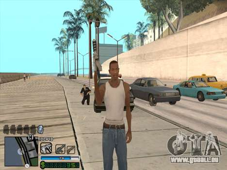 C-HUD by Stafford für GTA San Andreas