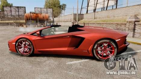 Lamborghini Aventador LP 700-4 Roadster [EPM] pour GTA 4 est une gauche