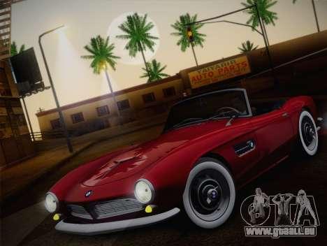 BMW 507 1959 Stock pour GTA San Andreas vue arrière