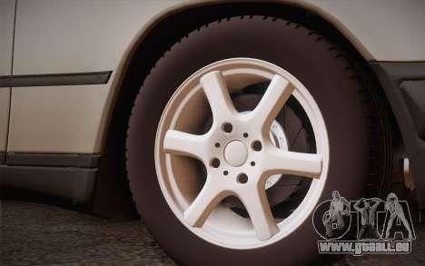 Mercedes-Benz E-Class W124 Kombi pour GTA San Andreas vue arrière
