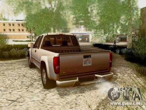 Chevrolet Colorado pour GTA San Andreas roue