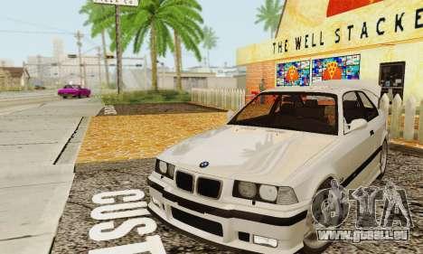 BMW E36 M3 1997 Stock für GTA San Andreas