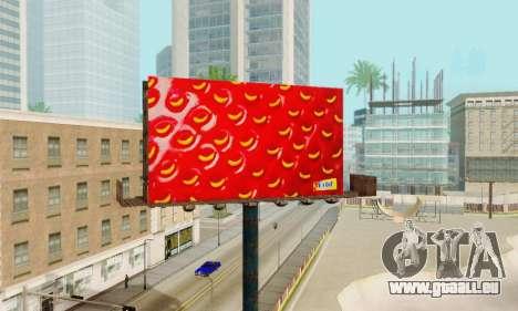Neue hochwertige Werbung auf Plakaten für GTA San Andreas neunten Screenshot