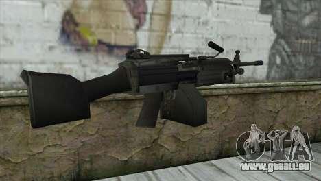 M249 SAW Machine Gun pour GTA San Andreas deuxième écran