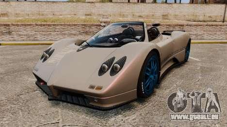 Pagani Zonda C12 S Roadster 2001 PJ1 pour GTA 4