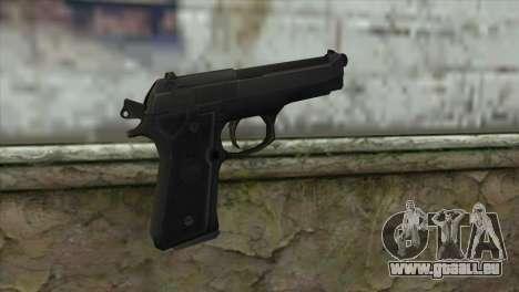 M9 Pistol pour GTA San Andreas deuxième écran