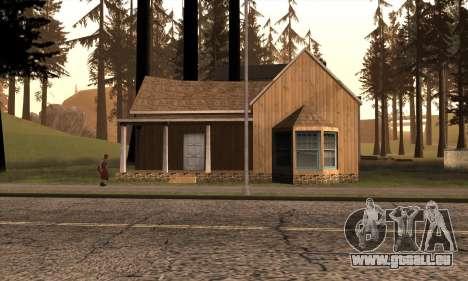 Nouvelle maison de Sijia à Angel Pine pour GTA San Andreas deuxième écran