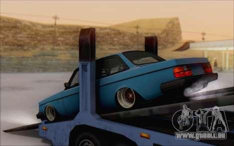 Volvo 242 Stance 1983 pour GTA San Andreas laissé vue