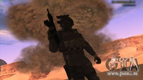 Sgt Keegan P.Russ из Call Of Duty: Geister für GTA San Andreas dritten Screenshot
