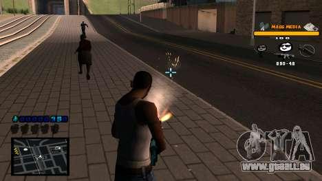 C-HUD Mass Media für GTA San Andreas her Screenshot