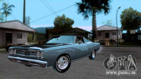 Plymouth Road RunneR 1969 pour GTA San Andreas