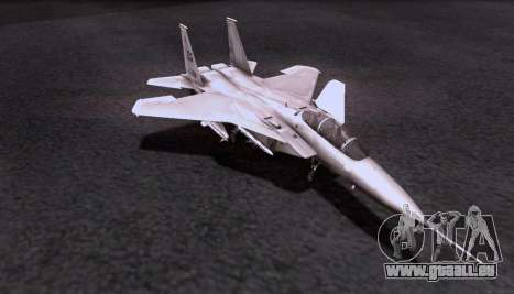F-15S für GTA San Andreas Rückansicht