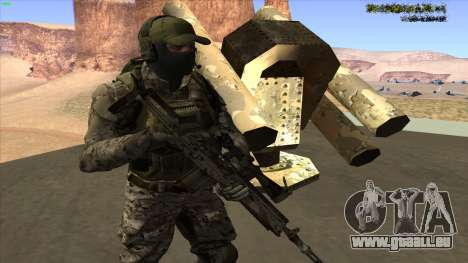 U.S. Navy Seal für GTA San Andreas her Screenshot