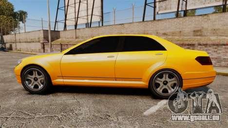Benefactor Schafter 2014 für GTA 4 linke Ansicht
