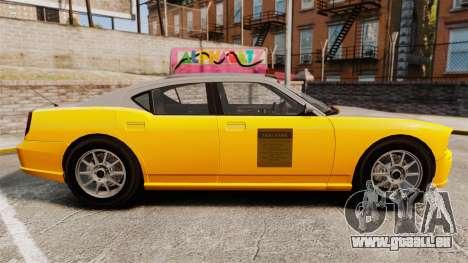 Bravado Buffalo Taxi pour GTA 4 est une gauche