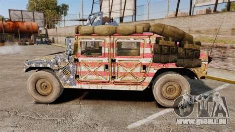 HMMWV M1114 Freedom pour GTA 4 est une gauche