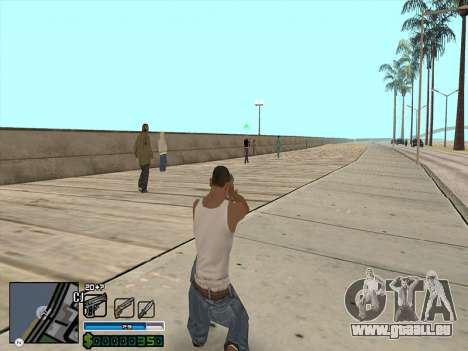 C-HUD by Stafford für GTA San Andreas zweiten Screenshot