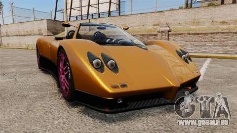 Pagani Zonda C12 S Roadster 2001 PJ2 für GTA 4