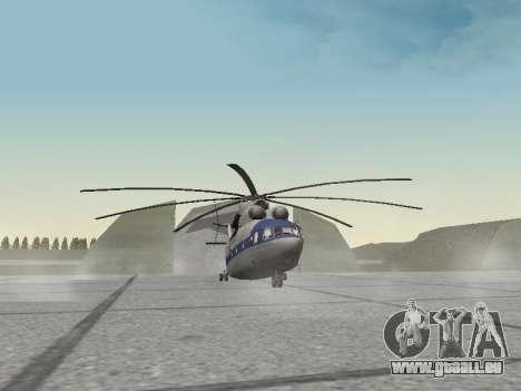 Mi 26 Zivil für GTA San Andreas linke Ansicht