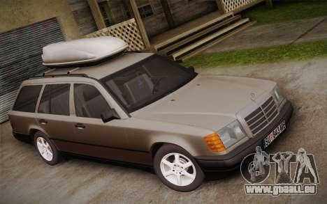Mercedes-Benz E-Class W124 Kombi pour GTA San Andreas sur la vue arrière gauche