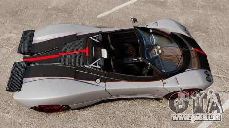 Pagani Zonda C12 S Roadster 2001 PJ5 pour GTA 4 est un droit