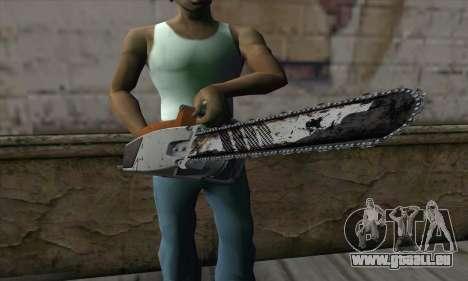 Chainsaw pour GTA San Andreas troisième écran