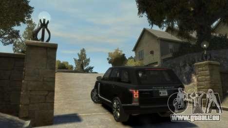 Range Rover Vogue 2014 pour GTA 4 est un droit