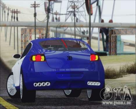 Bugatti Galibier 16c Final pour GTA San Andreas laissé vue