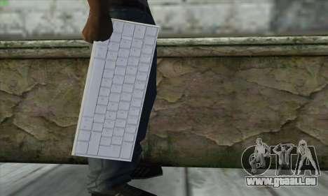 Tastatur Waffe pour GTA San Andreas troisième écran
