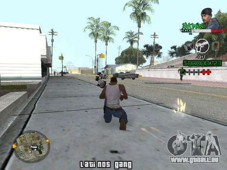 C-HUD Latinos by K.D für GTA San Andreas zweiten Screenshot