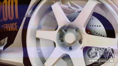 Toyota Supra 1998 Top Secret pour GTA San Andreas vue de côté