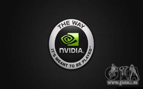 Les écrans de démarrage et de menus Watch Dogs pour GTA San Andreas troisième écran