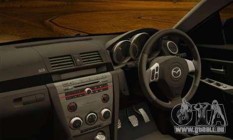 Mazda Axela Sport 2005 pour GTA San Andreas vue de droite
