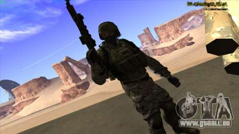 U.S. Navy Seal für GTA San Andreas sechsten Screenshot
