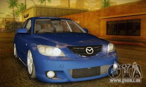 Mazda Axela Sport 2005 pour GTA San Andreas