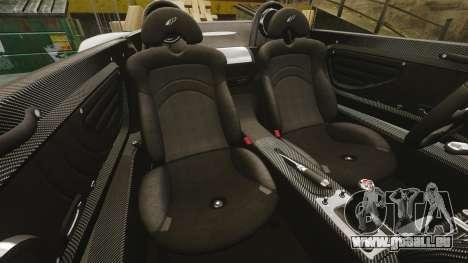 Pagani Zonda C12 S Roadster 2001 PJ1 pour GTA 4 est un côté