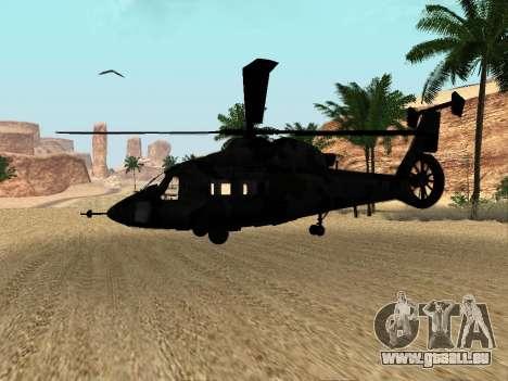 KA-60 pour GTA San Andreas vue intérieure