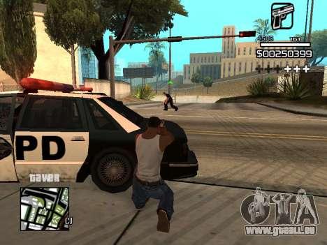 C-HUD By Kapo pour GTA San Andreas huitième écran