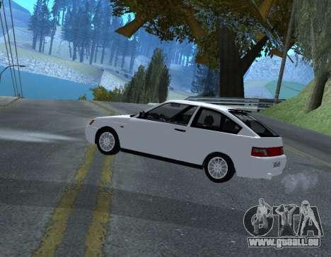 ВАЗ 2112 GVR Version 1.1 pour GTA San Andreas laissé vue