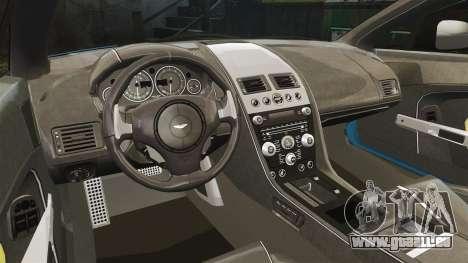 Aston Martin V12 Vantage S 2013 [Updated] pour GTA 4 est une vue de l'intérieur