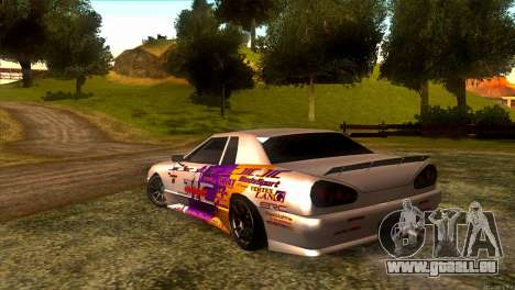 Elegy JIC Magic für GTA San Andreas zurück linke Ansicht