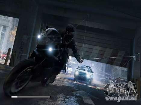 Les écrans de démarrage et de menus Watch Dogs pour GTA San Andreas onzième écran