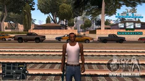 C-HUD RJ Aztecaz pour GTA San Andreas