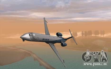 Embraer 145 Xp für GTA San Andreas rechten Ansicht